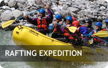 River Rafting in Himalayas